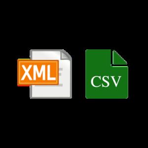 XML und CSV