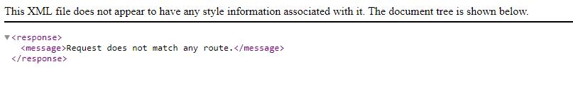 Response der Magento2 API