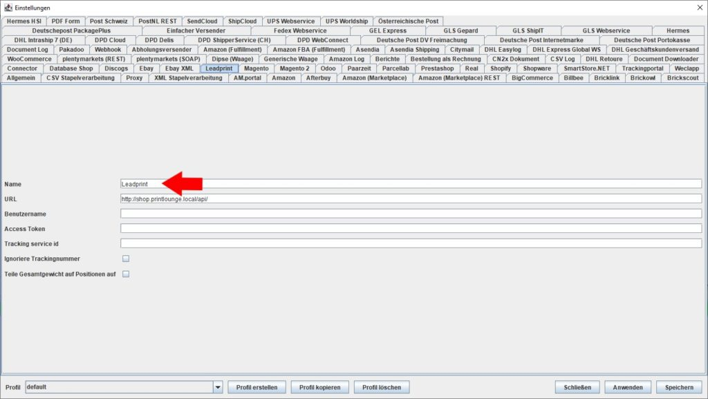LeadPrint Name