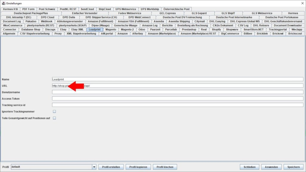 LeadPrint URL
